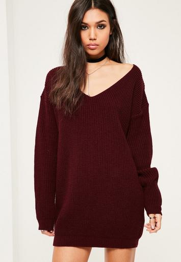 burgundy-v-neck-slouch-jumper-dress.jpg